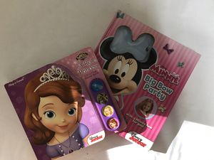 Minnie bow party & Sofia the first a real princess for Sale in Syosset, NY