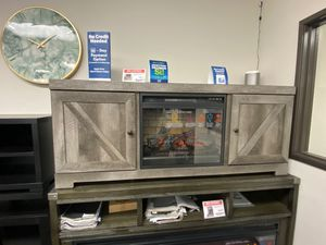 Tv Stand with Fireplace, Grey ,W440 for Sale in Norwalk, CA