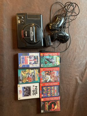 Sega Genesis with 7 games for Sale in Buffalo, MN