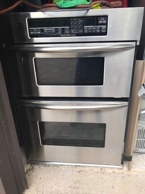 Kitchenaid Stainless Built-in Oven/Micro Combo Unit for Sale in Buda, TX