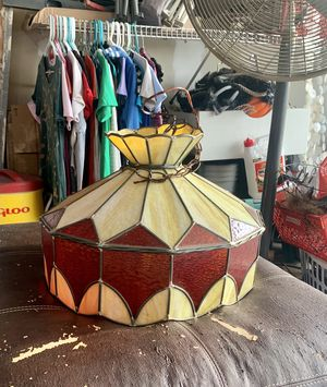 Stained Glass Hanging Light for Sale in St. Peters, MO