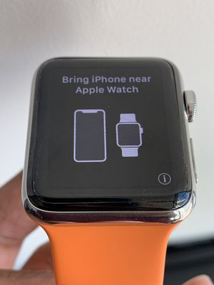 Apple Watch Series 3 42mm Stainless Steel Hermes Edition for Sale in Seattle, WA
