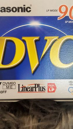 Panasonic AY-DVM60FF 60-minute DVC (Mini DV) Tape for Sale in Edmonds,  WA