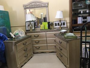 💥SUPER SALE!💥4PC BEDROOM SET DRESSER 2 NIGHTSTANDS & MIRROR *CAN DELIVER *zelle Venmo PayPal will hold! *If Posted still Avail! for Sale in Lake Worth, FL
