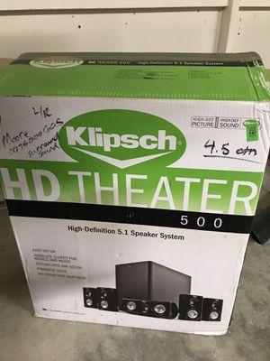 Klipsch / Pioneer 5.1 Surround Sound System - LIKE NEW for Sale in San Diego, CA