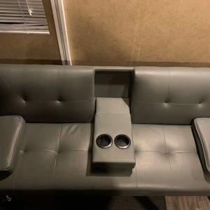 Convertible sofa couch sleeper/futon for Sale in Estacada, OR