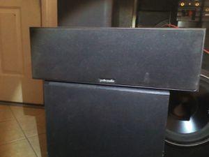 Polk audio center channel speaker for Sale in Apache Junction, AZ