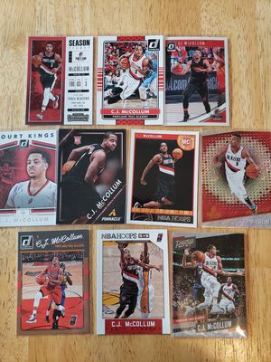 C.J. McCollum Blazers NBA basketball cards for Sale in Gresham, OR