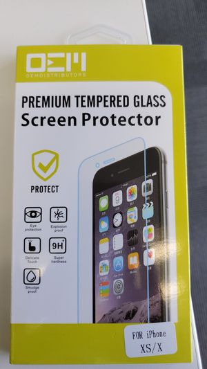 iPhone XS/ X screenprotector for Sale in Wheaton-Glenmont, MD