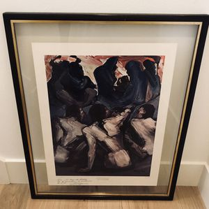 1965 David Alfaro Siqueiros Signed Print Framed for Sale in Seattle, WA