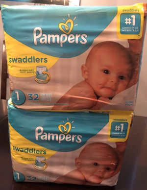 Pampers swaddlers size 1 for Sale in San Jacinto, CA
