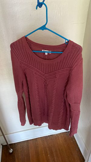 Moving sale! Down East brand size L cozy knit sweater for Sale in Seattle, WA