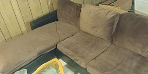 Brown couch for Sale in Springfield, VA