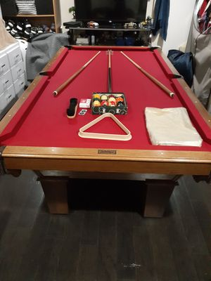 Olhausen pool table 8ft for Sale in Aspen Hill, MD