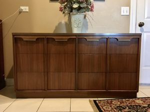 "Mid Century or Vintage Basic Witz Lowboy Dresser / TV Stand / Credenza / Server / Sideboard / Cabinet - 54"" x 18"" x 29"" for Sale in Barrington, IL"