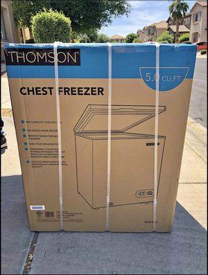 5 cu ft chest freezer for Sale in Surprise, AZ