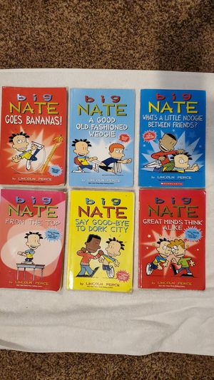 Lot of 6 Big Nate children's comic book collection for Sale in Lodi, CA