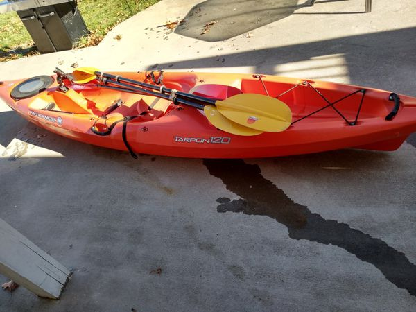 Tarpon 120 kayak I have 3 nice kayak 2 kayak 17 foot the yellow 13