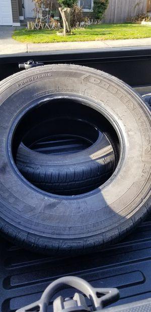Tires. Like New. Firestone Destination for Sale in Renton, WA