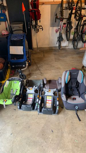 Chicco baby car seat/ Graco booster/ safety first car seat for Sale in Kent, WA