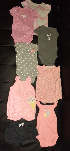 Baby Girls Clothes Size 3 mo. for Sale in San Bernardino, CA