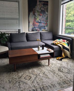 West elm mid century pop up coffee table *price is firm* for Sale in Portland, OR