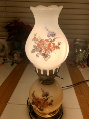 Vintage glass table lamp 1930s for Sale in Long Beach, CA