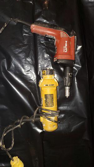 Hilti screw gun and router dewalt for Sale in Chicago, IL