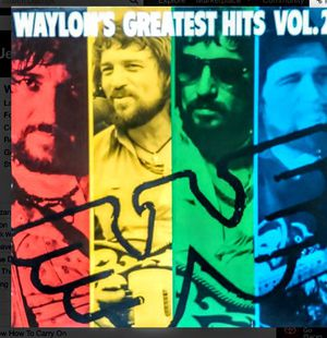 Waylons Greatest Hits Vol 2 for Sale in Rustburg, VA