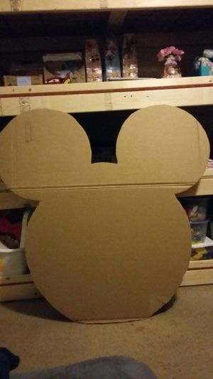 Mickey or minnie mouse cardboard cut out for Sale in Durham, NC