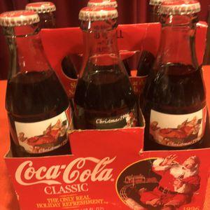Coca Cola 1996 Vintage Collector Bottles 6 Pack for Sale in Portland, OR