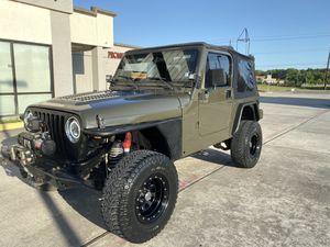 2001 Jeep Wrangler TJ for Sale in Houston, TX