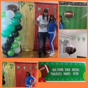 NFL football 🏈 themed party 🎉 celebration for Sale in Chicago, IL