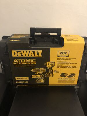 Dewalt Atomic 20v drill and impact brushless New for Sale in The Bronx, NY