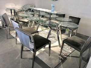 9pc luxe dining set for Sale in Rockville, MD