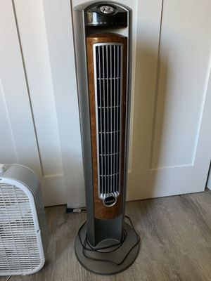 Lasko Wind Curve 42 in. Oscillating Tower Fan with Fresh Air Ionizer for Sale in San Jose, CA