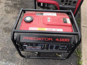 Generators great condition starting $350 OBO for Sale in Detroit, MI