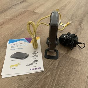 NETGEAR High Speed Cable Modem, Model CM400 for Sale in Irvine, CA
