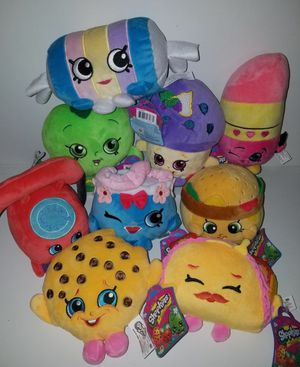 NEW! Shopkins Plush Toys for Sale in Stuart, FL