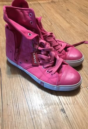 Pink Levi high tops for Sale in Nashville, TN