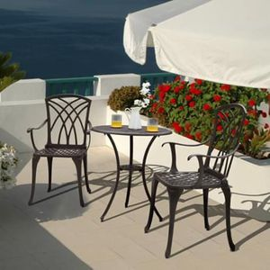 SHIPPING ONLY 3 Piece Patio Furniture Set for Outdoor Garden Balcony Porch Areas w/Chairs and Table for Sale in Las Vegas, NV