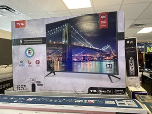"TCL 65"" Smart 4K UHD HDR Roku TV for Sale in Hesperia, CA"