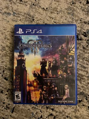 Kingdom Hearts III for PS4 for Sale in Alameda, CA