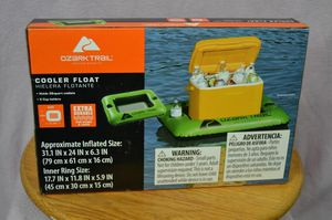 2 BRAND NEW OZARK TRAILS COOLER FLOATS for Sale in Kent, WA