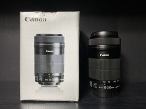 Canon EFS 55-250mm Lens (f/4-5.6 IS STM) for Sale in Greenbelt, MD