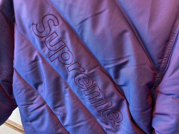 Supreme Iridescent Puffer Jacket