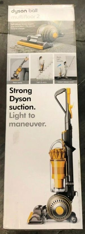 Dyson Ball Multifloor Upright Vacuum, Yellow/Iron for Sale in Garden Grove, CA