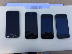 Non working iPhone 4 and 5's for Sale in Santa Monica, CA