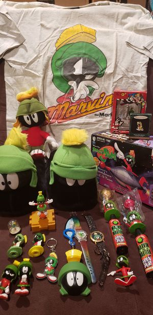Looney Tunes Marvin The Martian Lot for Sale in Los Angeles, CA