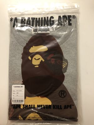 OVO x BAPE XXL Grey Tee for Sale in New York, NY